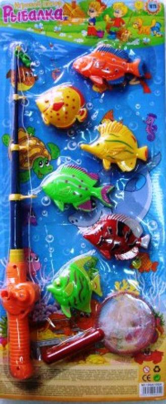 рыбки с удочками с сачком вк