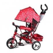Велосипед детский трехколесный Turbo M 5363-5, цвет красный