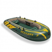 Лодка надувная трехместная Seahawk-300 Intex 68349